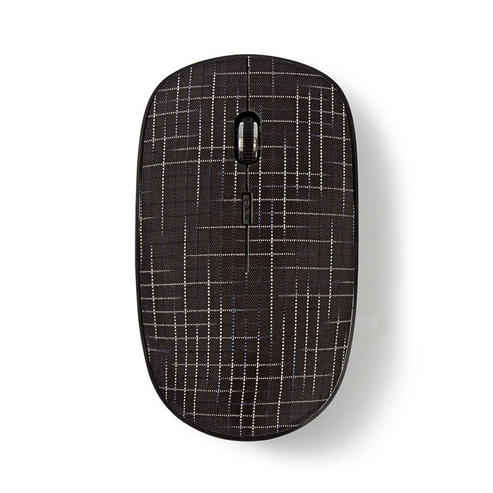 NEDIS MSWS500BK Wireless Mouse 1600 DPI 3-Button Black