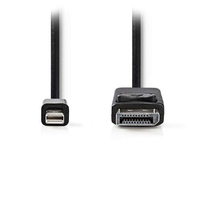 NEDIS CCGT37400BK20 Mini-DisplayPort - DisplayPort Cable Mini DisplayPort Male D
