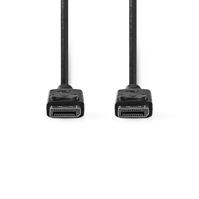 NEDIS CCGT37010BK20 DisplayPort 1.2 Cable DisplayPort Male DisplayPort Male 2.0