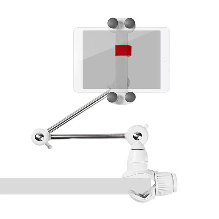 NEDIS TDMT111WT Tablet and Smartphone Mount Foldable Arm 4 - 12 Full Motion