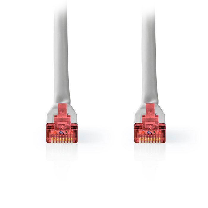 NEDIS CCGT85221GY100 Network Cable CAT6 S/FTP RJ45 Male RJ45 Male 10.0 m Grey