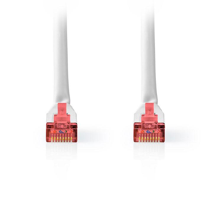 NEDIS CCGT85221WT30 Network Cable CAT6 S/FTP RJ45 Male RJ45 Male 3.0 m White