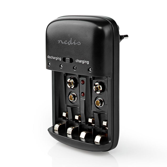 NEDIS BACH07 NiMH Battery Charger AA/AAA/E-Block