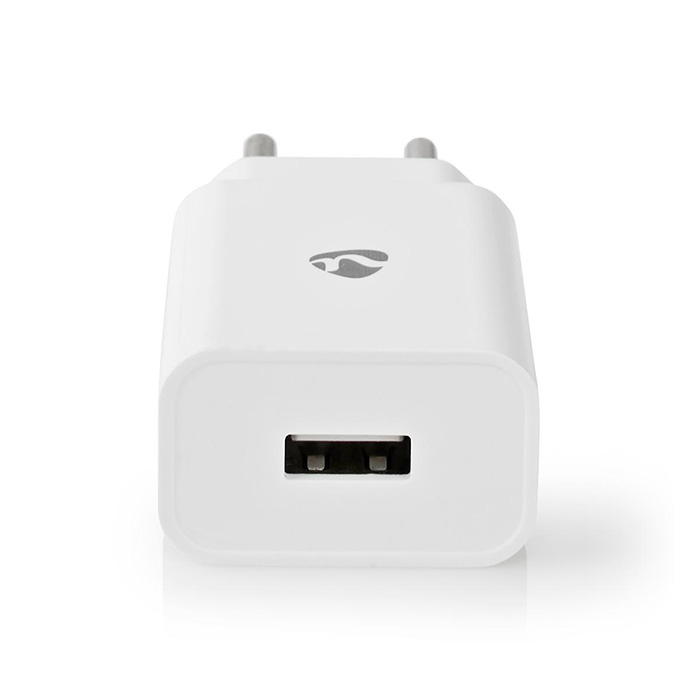 NEDIS WCHAU212AWT Wall Charger 1x 2.1A Port type: 1x USB-A  No Cable Included 10