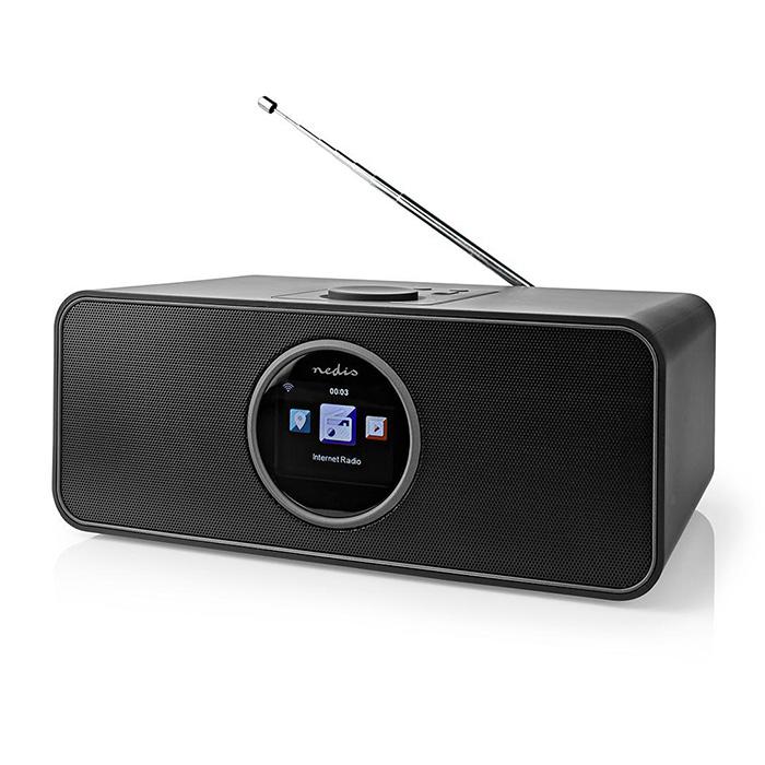 NEDIS RDIN4000BK Internet Radio 42 W FM Bluetooth Remote Control Black