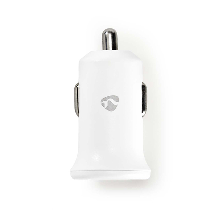 NEDIS CCHAU240AWT Car Charger 2x 2,4A Number of outputs: 2 Port type: 2x USB-A 1