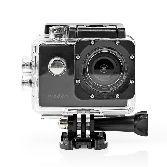 NEDIS ACAM07BK Action Cam 1080p@30fps 12MPixel Waterproof up to: 30.0m 90 min Mo