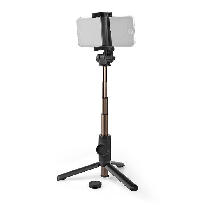 NEDIS SEST250BK Extendable Selfie Stick with detachable wireless remote Tripod P