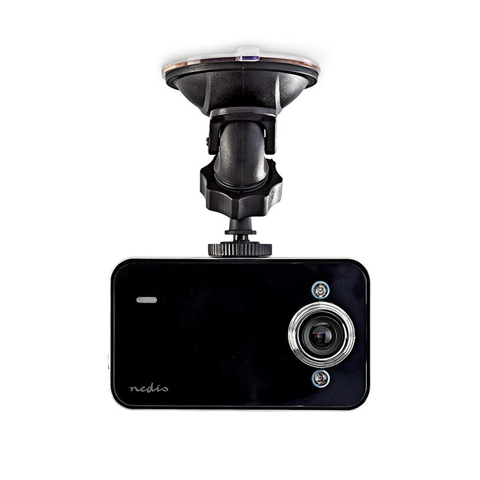 NEDIS DCAM06BK Dash Cam 720p@30fps 3.0 MPixel 2.4 LCD Motion detection Black