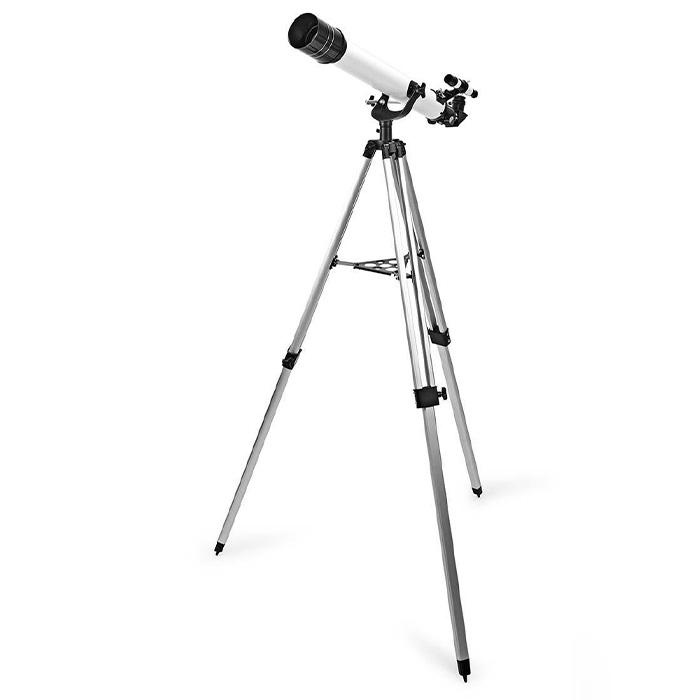 NEDIS SCTE7070WT TelescopeAperture: 70mm Focal length: 700mm Finderscope: 5 x 24