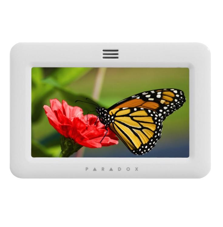 Paradox TM50 White Πληκτρολόγιο Αφής (Touch Screen) 5 ιντσών