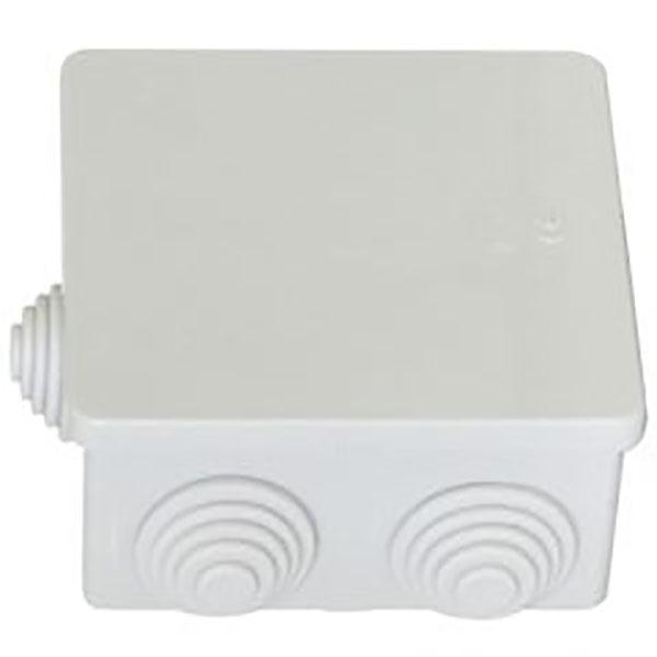 Cet, CP1040, Κουτί Διακλάδωσης 100x100x50mm πλαστικό με βίδες αδιάβροχα IP55 Γκρι