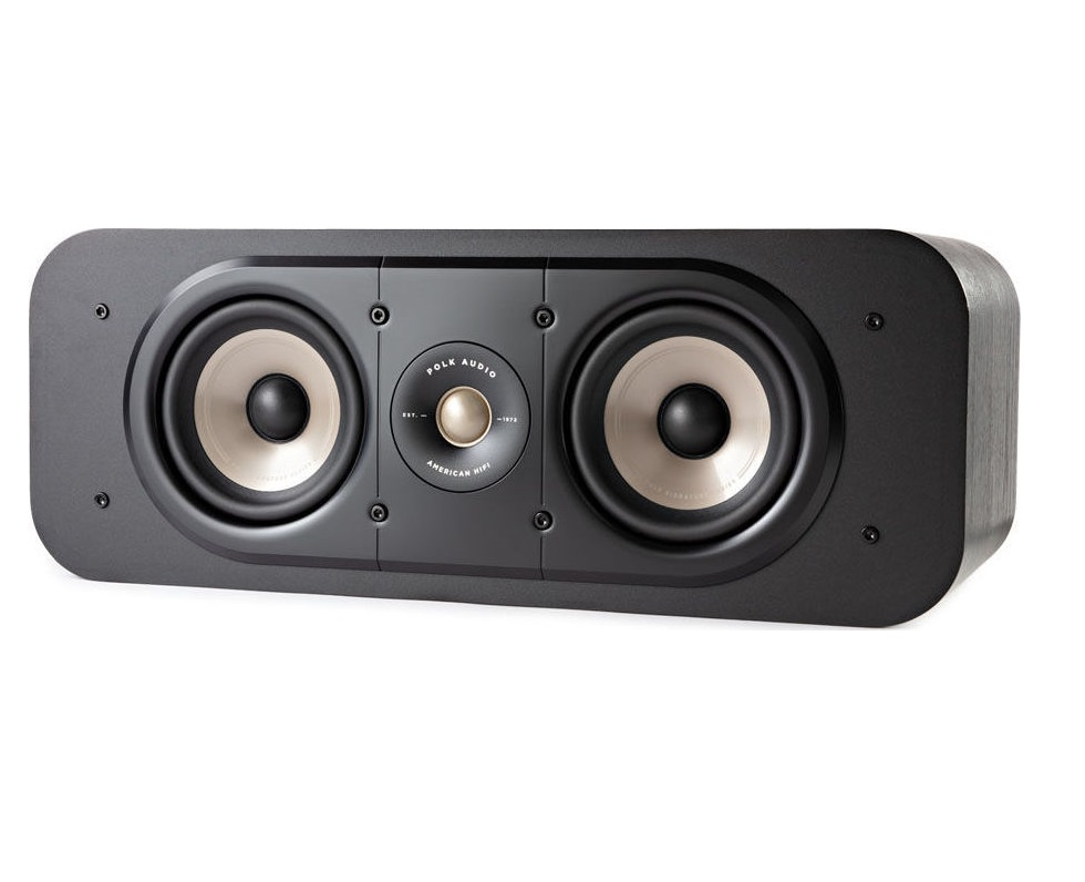 Polk Audio Signature S30e Κεντρικό Ηχείο Black