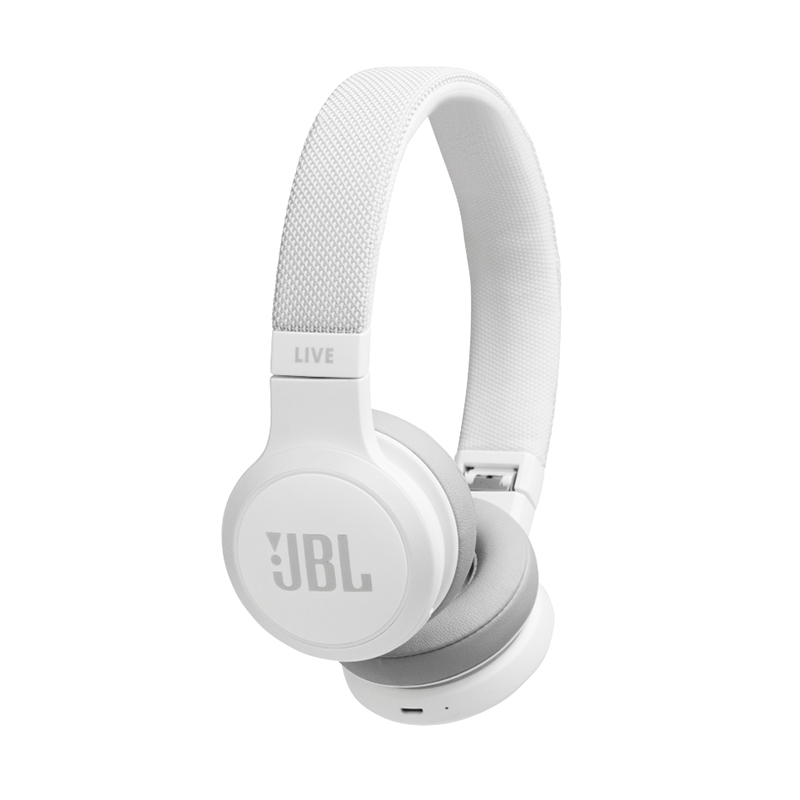 JBL Live 400 BT Ασύρματο Ακουστικό White