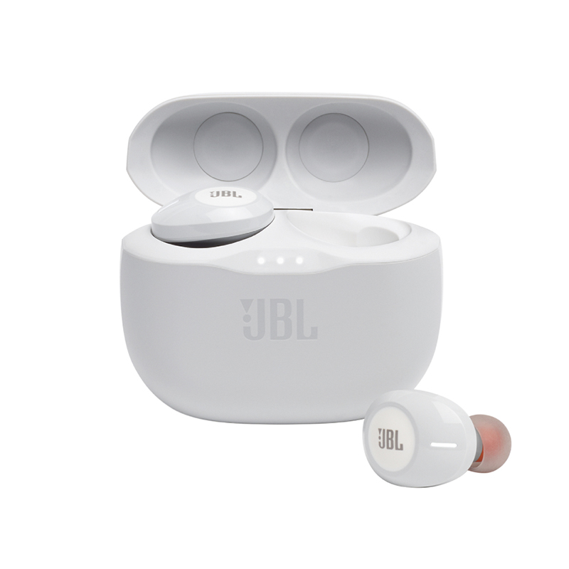 JBL Tune 125 Ασύρματα Ακουστικά White