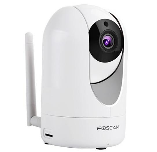 Foscam R2M Telecamera IP Robotica 2MP da Interno