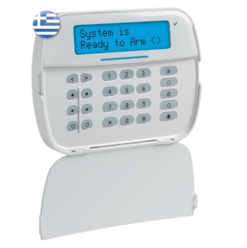 DSC POWERSERIES ΝΕΟ HS2LCDRF8E6 Ενσύρματο Πληκτρολόγιο με Οθόνη LCD και Ενσωματωμένο Δέκτη RF Power G