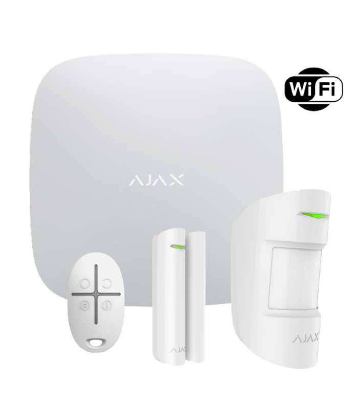 Ajax Starter Kit Plus (13540) White Ασύρματο Σύστημα Συναγερμού
