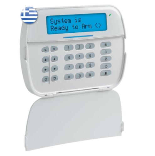DSC POWERSERIES ΝΕΟ HS2LCDWF8E6 Ασύρματο Πληκτρολόγιο με Οθόνη LCD
