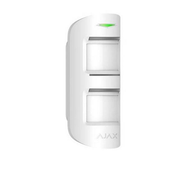 Ajax Motion Protect Outdoor White Ασύρματος Εξωτερικός Ανιχνευτής Κίνησης PIR