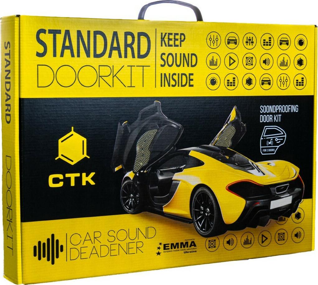 CTK STANDARD DOORKIT Σέτ Ηχομόνωσης Πόρτας Αυτοκινήτου 370*500 (Σετ)