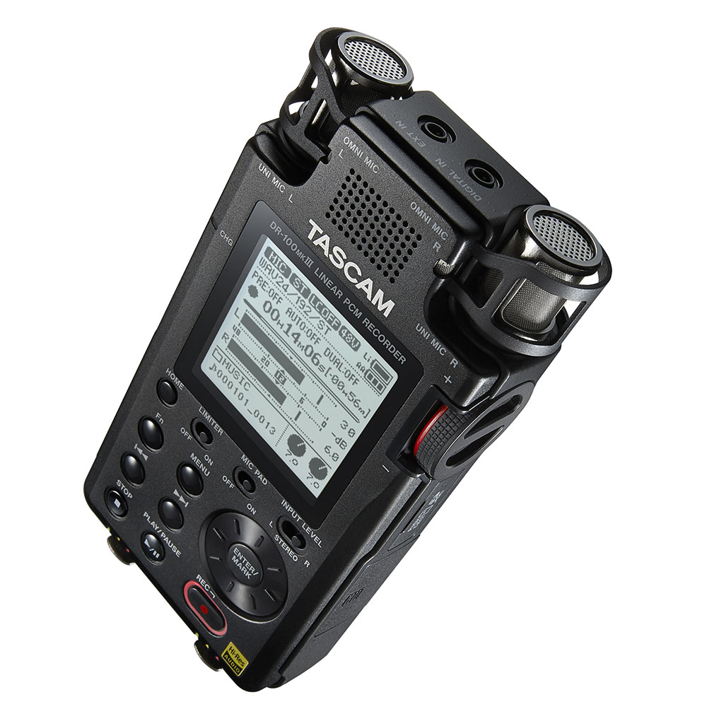 Tascam DR-100 MK3 Φορητός Εγγραφέας