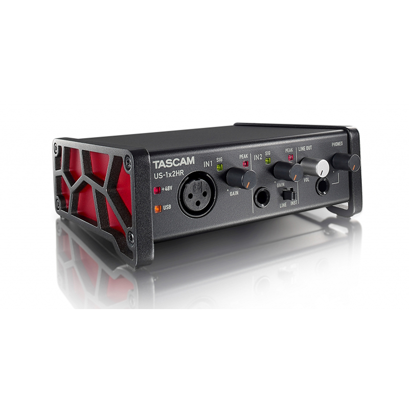 Tascam US-1x2HR USB Audio Interface 2-in / 2-out