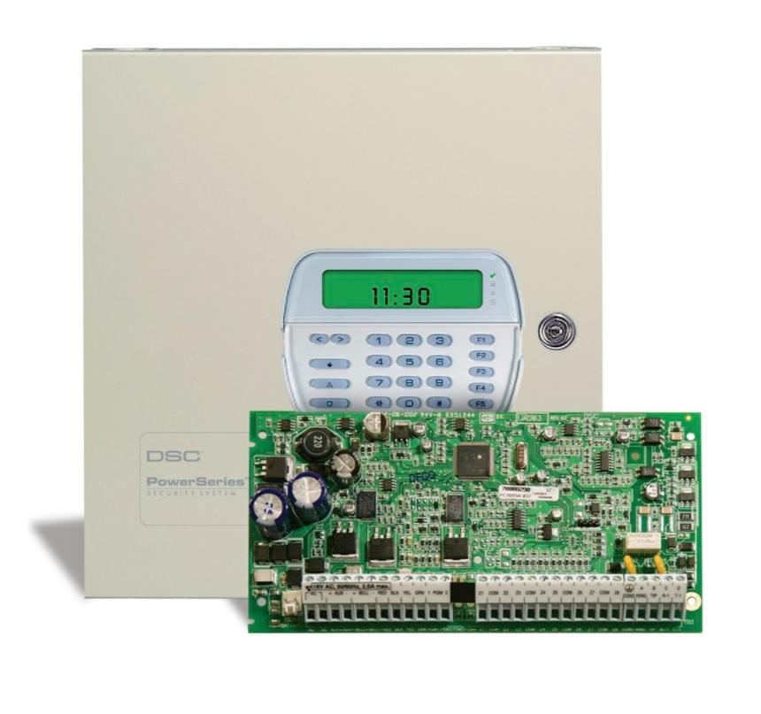 DSC POWERSERIES PC1616E7H ΚΙΤ Συναγερμού 6/16 ζωνών με Μεταλλικό Κουτί και Πληκτρολόγιο icon PK5501E1