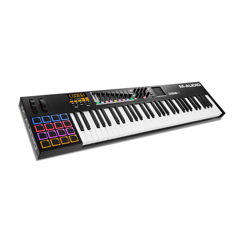 M-Audio Code 61 Black MIdi Keyboard