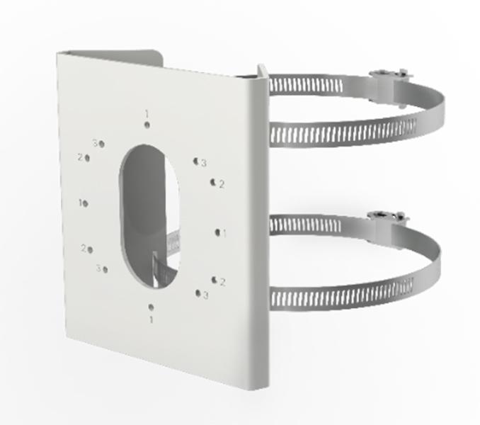 HIKVISION DS-1275ZJ-S-SUS Βάση Στήριξης Σταθερής Κάμερας Bullet σε Στύλο