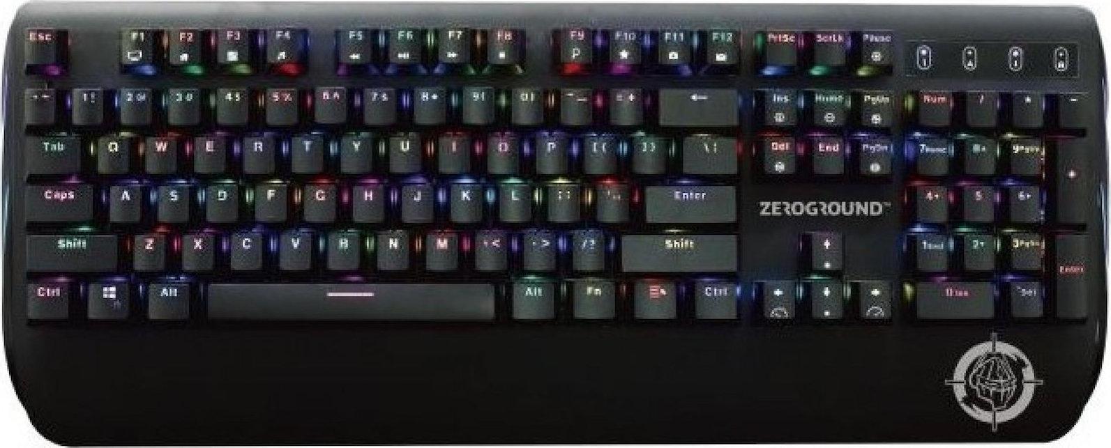 Zeroground KB-2700G Sakimo Μηχανικό Πληκτρολόγιο Gaming