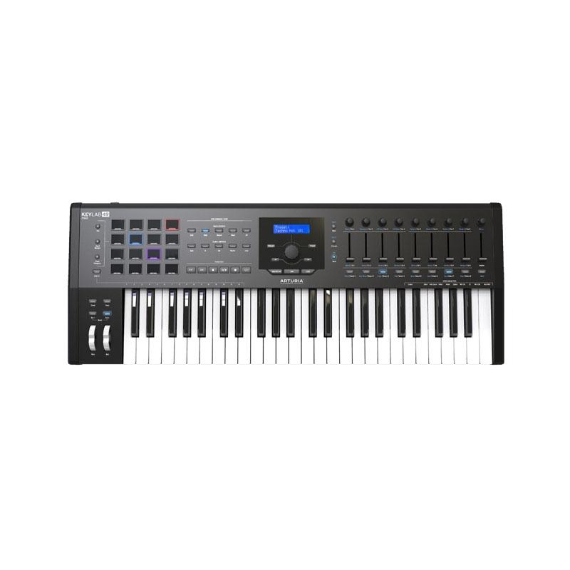 Arturia Keylab 49 MK2 Black Midi Keyboard + Δωρο V-Collection 7