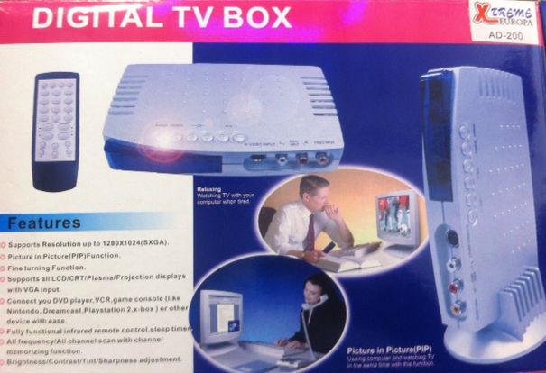 Xtreme Europa AD-200 TV tuner, Μετατροπέας RCA A/V-VGA / VGA-RCA A/V