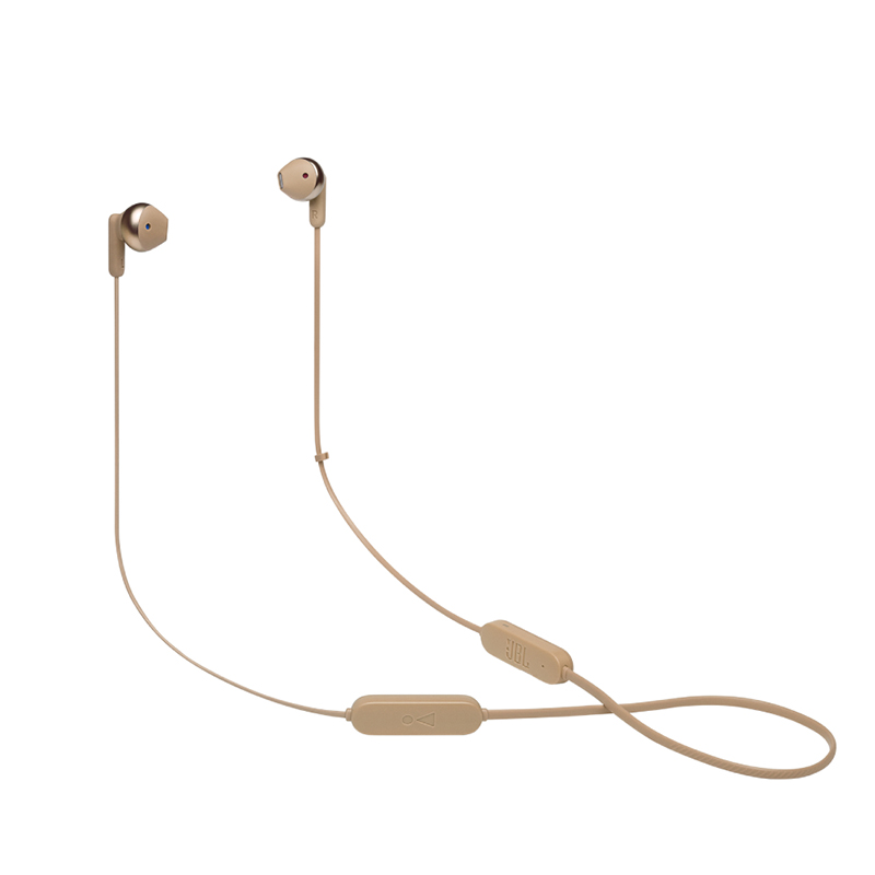 JBL Tune 215 Ακουστικά Bluetooth Neckband Gold