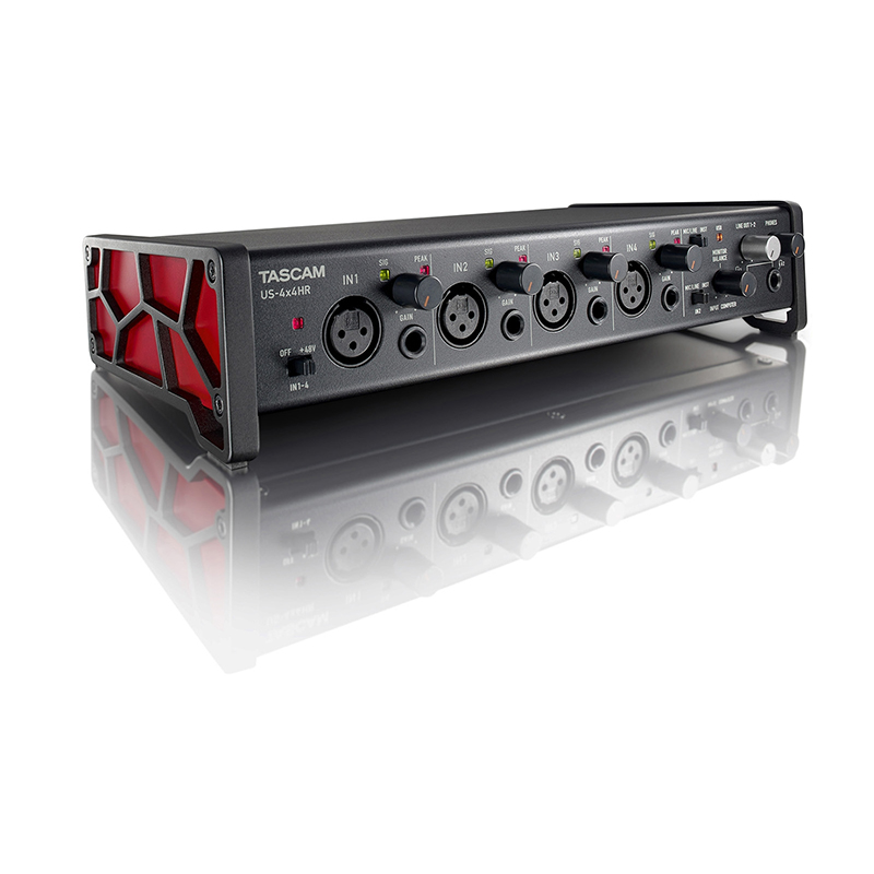 Tascam US-4X4HR USB Audio Interface 4-in / 4-out