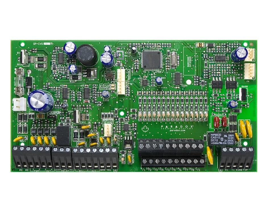Paradox SP7000 Κέντρο Συναγερμού 16 Ζωνών ή 32 με Διπλασιασμό, Επεκτάσιμο έως και 32 ζώνες