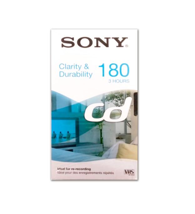SONY E-180CDG Κασέτα Εγγραφής Video VHS 180min PAL/SECAM
