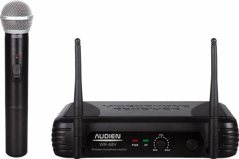 Audien WR-68V-A Ασύρματο Δυναμικό Μικρόφωνο Χειρός VHF