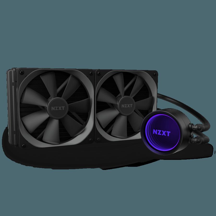 NZXT KRAKEN X63 (280MM) RGB VARIABLE SPEED LIQUID COOLER – (INCLUDES AM4 BRACKET & HUE 2)