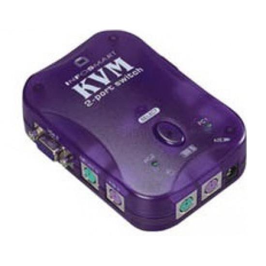 InfoSmart INKP02 Data switch KVM 2PC