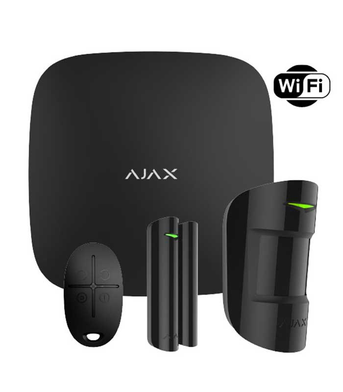 Ajax Starter Kit Plus (13540) Black Ασύρματο Σύστημα Συναγερμού