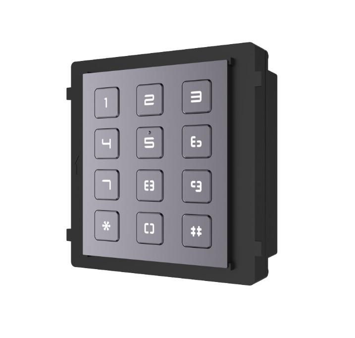 Hikvision DS-KD-KP Module Πληκτρολογίου για Κλήση Διαμερίσματος & Ανοιγμα Θύρας με Χρήση Κωδικού