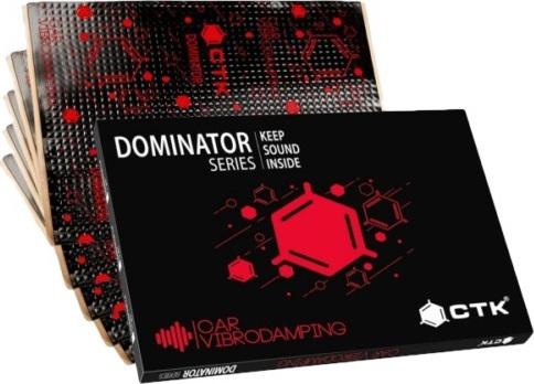 CTK Dominator 2.0 Ηχομονωτικό Φύλλο Απόσβεσης Κραδασμών Αυτοκινήτου 11τμχ