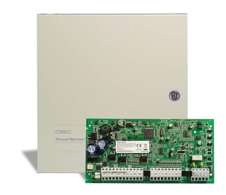 DSC POWERSERIES PC1616NKE Υβριδικός Πίνακας Συναγερμού  6 έως 16 Ενσύρματων Ζωνών