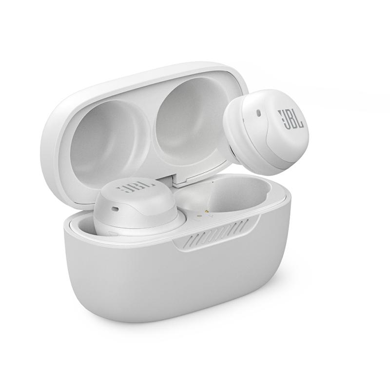 JBL Live Free NC+ TWS Ασύρματα Ακουστικά White (20.03982)