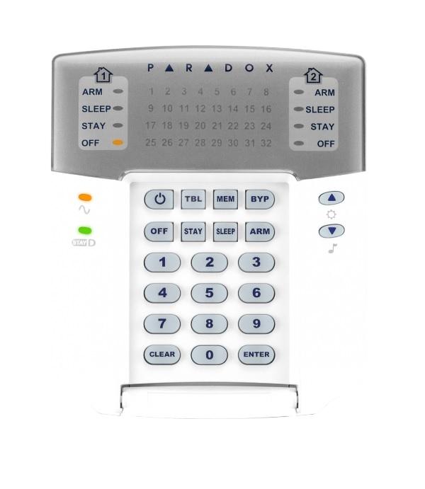 Paradox K32+ LED Πληκτρολόγιο 32 ζωνών