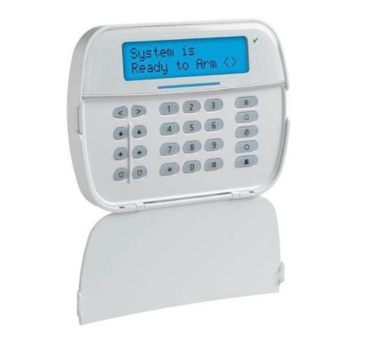 DSC POWERSERIES PRO HS2LCDPROE6 Πληκτρολόγιο με οθόνη LCD