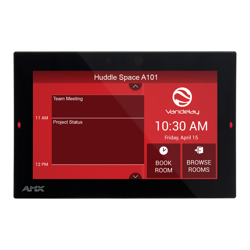 AMX 7 ACB-2107 Acendo Book Scheduling Touch Panel