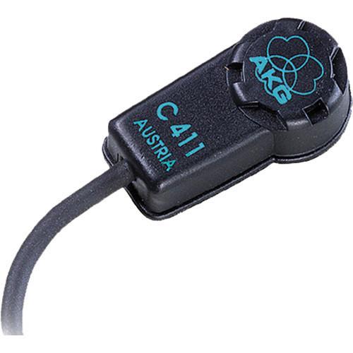 Ενσύρματο μικρόφωνο AKG C411 PP για μουσικά όργανα
