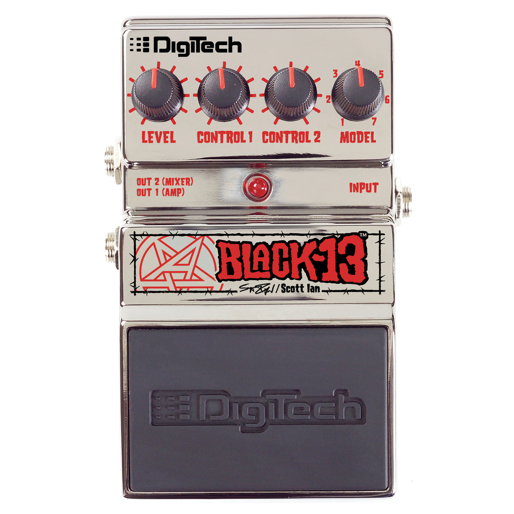 DIGITECH  BLACK-13 SCOTT IAN BLACK-13 PEDAL